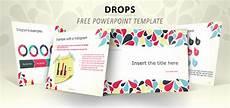 Descargar Diapositivas Drops Full Template For Powerpoint