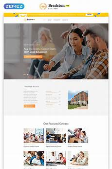 Online Education Templates Free Download Free Education Website Template