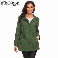 autumn coats for waist meaneor stand neck drawstring jackets 2017 autumn