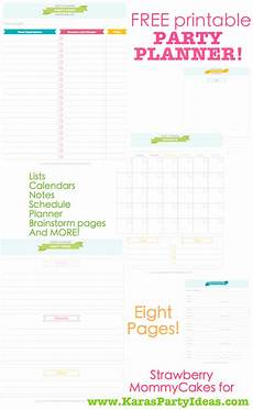 Party Planning Templates Kara S Party Ideas Free Printable Party Planner Download
