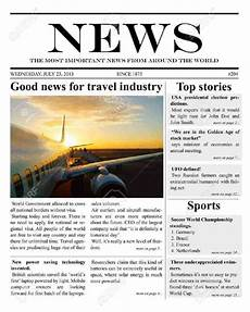 Newspaper Outline For Word 9 Newspaper Templates Word Excel Pdf Formats