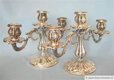 candelieri argento candelieri antichi argento 800