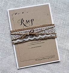 Burlap Wedding Invitations Burlap Wedding Invitation Lace Wedding Invitation Rustic