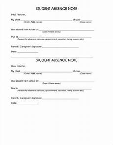 School Absence Note Template Free How To Make A School Note Free Amp Premium Templates