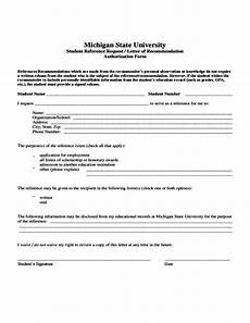 Request For A Letter Of Recommendation Student Reference Request Letter Of Recommendation