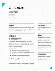 Editable Resume Template Resume Templates Editable Editable Resume