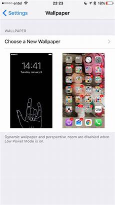 iphone disable dynamic wallpaper ios 10 unable to set live wallpaper in ios 10 ask