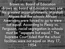 Diana Vs Board Of Education Thurgood Marshall By Emmbru14