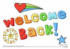 Welcome Back Poster Welcome Back Poster