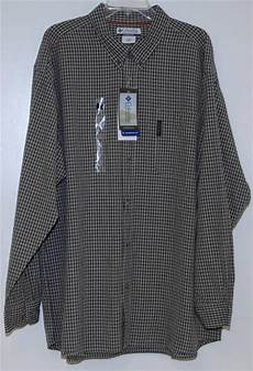 3x mens sleeve shirts columbia sportswear mens sleeve shirt plaid 2xl 3x