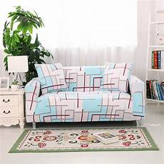 L Shaped Sectional Sofa Covers 3d Image by Stretch Style 3d Visual 3 Seater Sofa Cover Single
