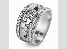 MENS Silver Claddagh Ring MS CLAD32