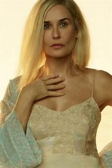 demi moore debuts platinum blonde hair for upcoming brave