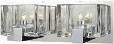 Halogen Vanity Light Fixture Elk 11961 2 Ridgecrest Contemporary Polished Chrome