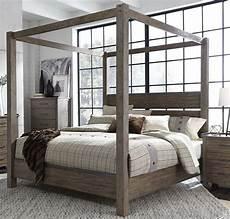 sonoma road beaten bark king canopy bed 1stopbedrooms