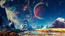space landscape wallpaper 4k world mountains river planets 4k wallpaper