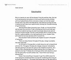 Character Sketch Essay Example Writing A Character Sketch Examples