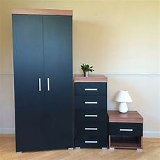 Drp Trading Bedroom Furniture Set Black Walnut Wardrobe by Black Walnut Bedroom Furniture Set Wardrobe 5 Drawer