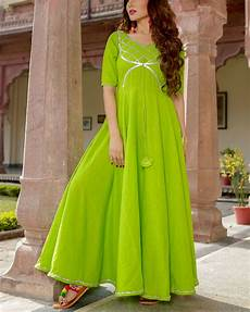 lime green clothes lime green gota dress by aachho the secret label