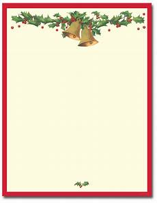 Holiday Letterhead Free Download Antique Bells Letterhead The Image Shop