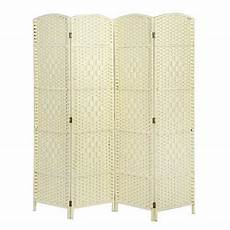 made wicker room divider privacy screen choice of