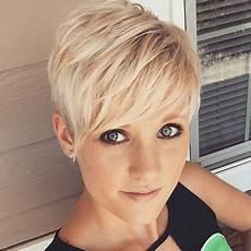kurzhaarfrisuren asymmetrisch blond frisuren damen 2017 kurz
