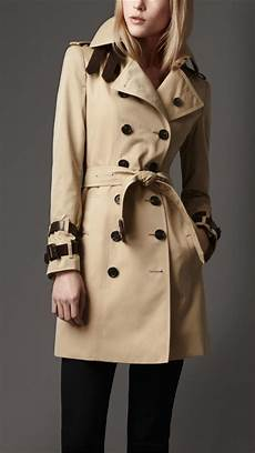 belts for trench coats burberry leather belt trench coat in lyst
