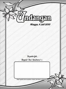 gambar 20 contoh desain bingkai undangan pernikahan edisi