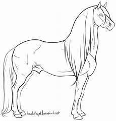 Pferde Ausmalbilder Spirit Warmblood Stallion Lineart By Amandaraquel With Images