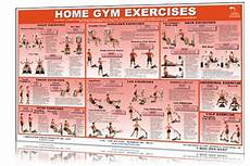 Parabody Home Gym Workout Chart Home Gym Workout Exercises Chart Printable Work Out