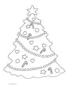 Malvorlagen Weihnachten Tannenbaum Coloring Pages