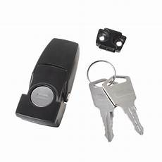cabinet black coated metal hasp latch dk604 security