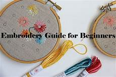 embroidery guide for beginners diy and crafts