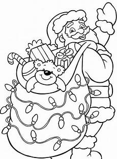 santa claus coloring pages coloring page base
