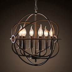 Candle Style Light Fixture Vintage 8 Light Candle Industrial Light Fixtures