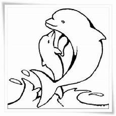 Malvorlagen Delphine Ausmalbilder Delfine Kostenlos