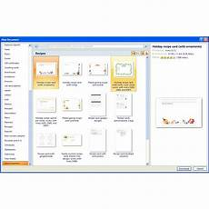 Microsoft Word Online Templates Finding Microsoft Word Recipe Templates