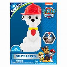 Paw Patrol Night Light Paw Patrol Soft Lite Glowing Pals Night Light Walmart Canada