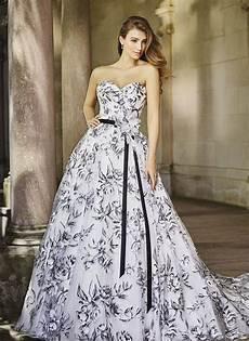 elegance black and white wedding dresses make you looks