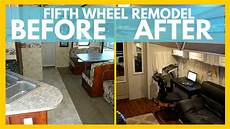 rv remodel before and after for time rv living