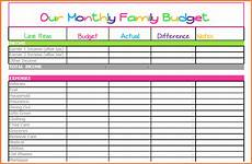 How To Make A Household Budget Spreadsheet 10 Monthly Bill Spreadsheet Template Excel Spreadsheets