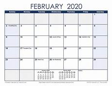 2020 Calendar Free Download Free Printable Calendar Printable Monthly Calendars