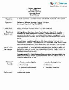 New Teacher Resume Examples Sample Teacher Resumes Teaching Resume Examples
