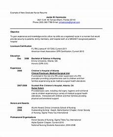 New Graduate Resumes Free 9 Sample Objective Statement For Resume Templates In Pdf