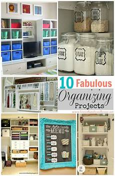 10 fabulous organizing projects linky features