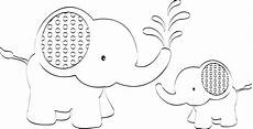 Elephant Printable 6 Best Images Of Elephant Outline Printable Elephant