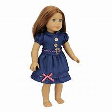 cheap american doll clothes new arrival 2016 fashion jean skirt for 18 inch american