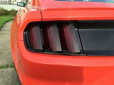 How To Tint Mustang Lights 2015 2017 Ford Mustang Smoke Light Tint Cover Smoked