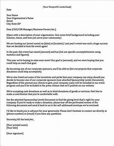 Big Paw Designs Donation Request Sponsorship Letters Write Great Proposals With 12 Templates