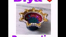 Designer Diyas Diya Decoration Simple And Beautiful How To Make